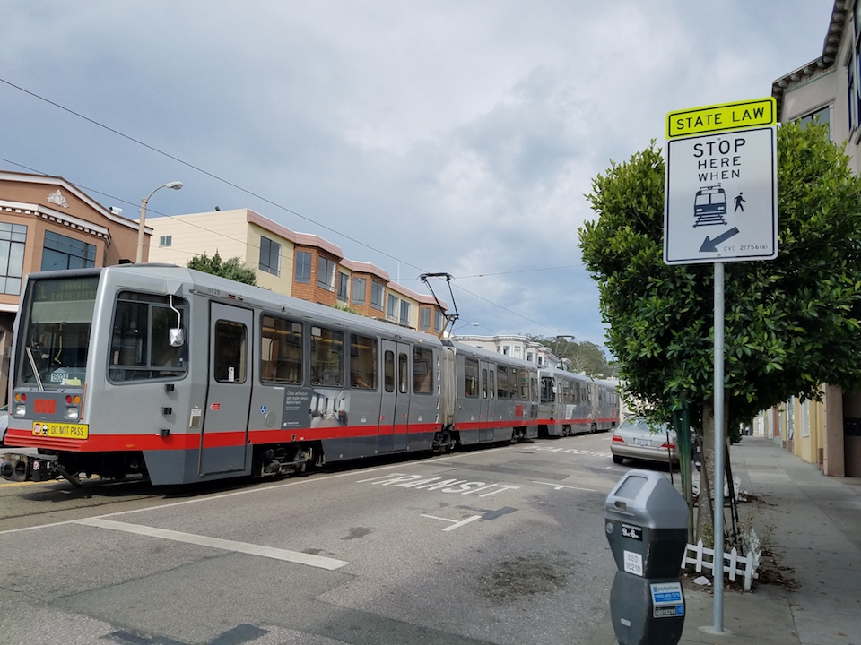 L taraval stop at 26th st.