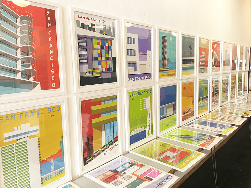Inspired by SF's modernist architecture, new artist-in-residence sets up shop in North Beach