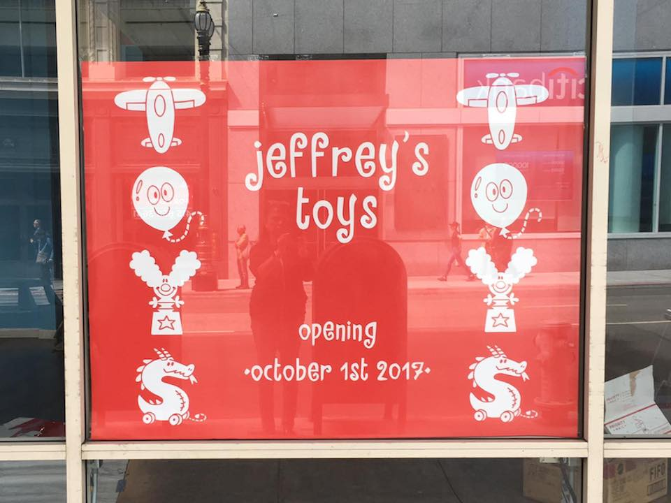 Jeffrey S Toys To Reopen In The Financial District Hoodline