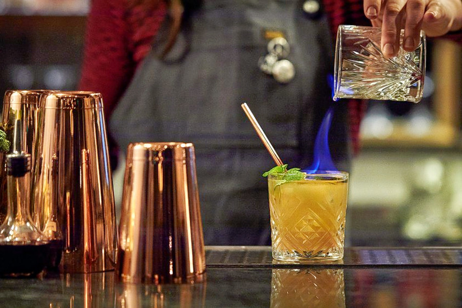 From open-air cocktails to shot-skis: Explore Lower Nob Hill's 3 newest bars