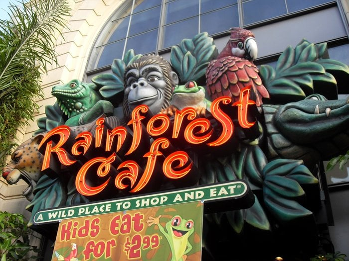 Rainforest Cafe Closing San Francisco