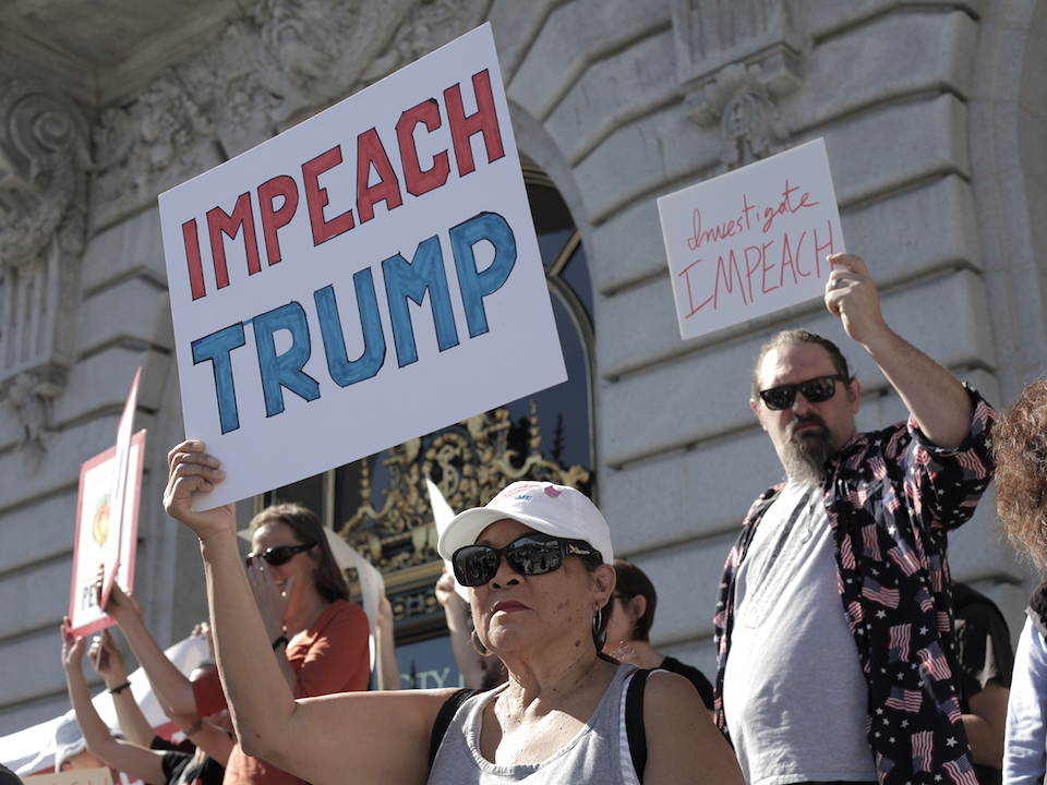 Trump impeachment rally