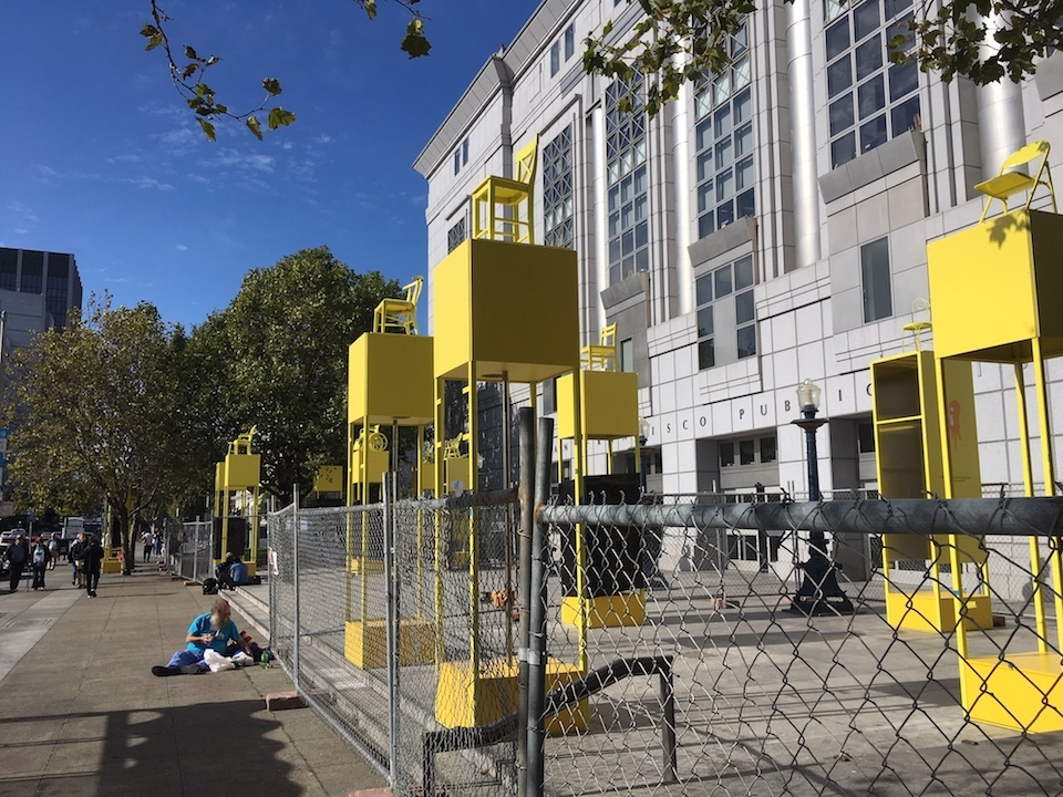 New Exploratorium exhibit in Civic Center invites visitors to 'pull up a chair' and chat