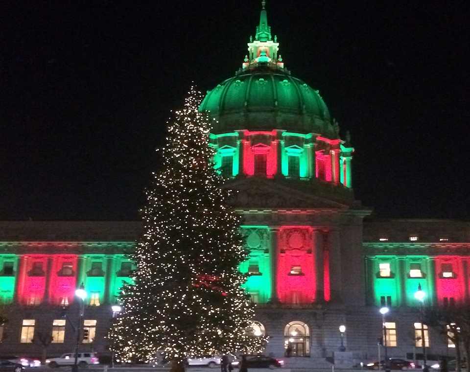 Civic center tree