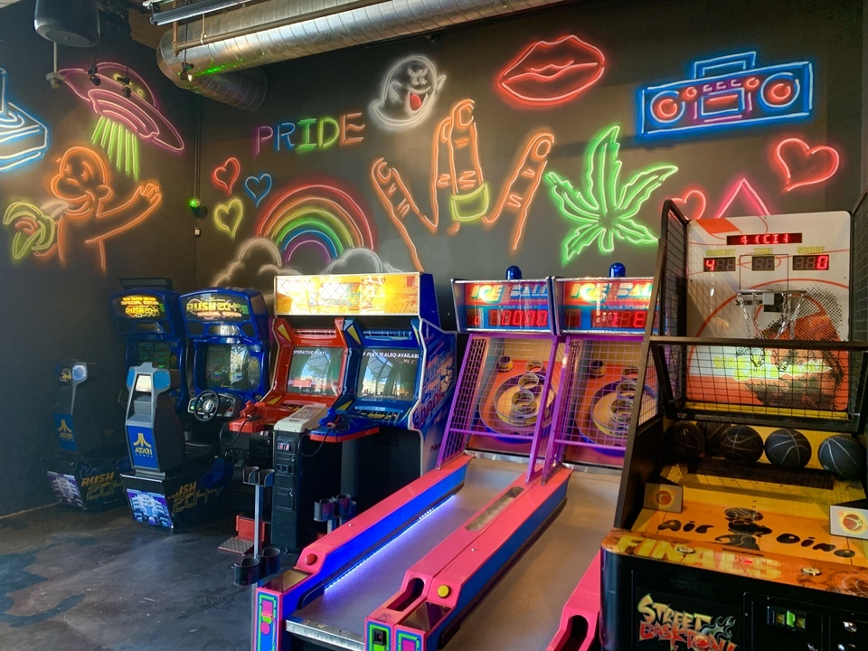 Game changer: Expanded Castro arcade bar rebrands as 'The