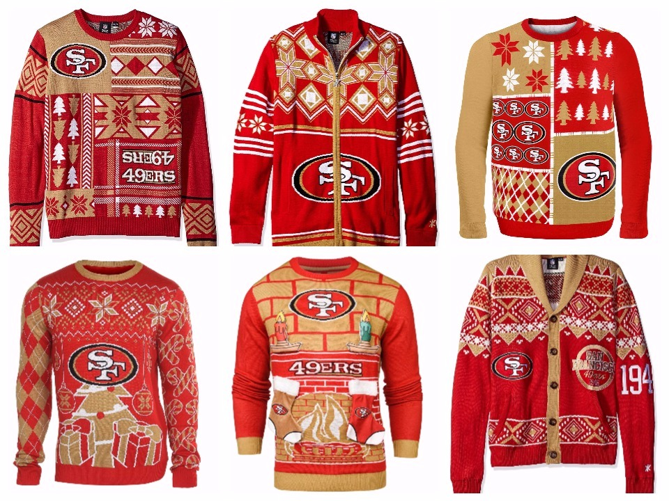 6 Ugly 49ers Sweaters To Keep The Cold Away  02ed9cad9f83