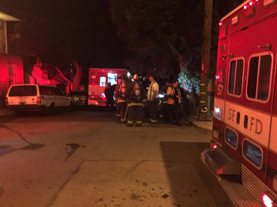 Carbon Monoxide Sickens 5, Kills Elderly Man In Bernal Heights