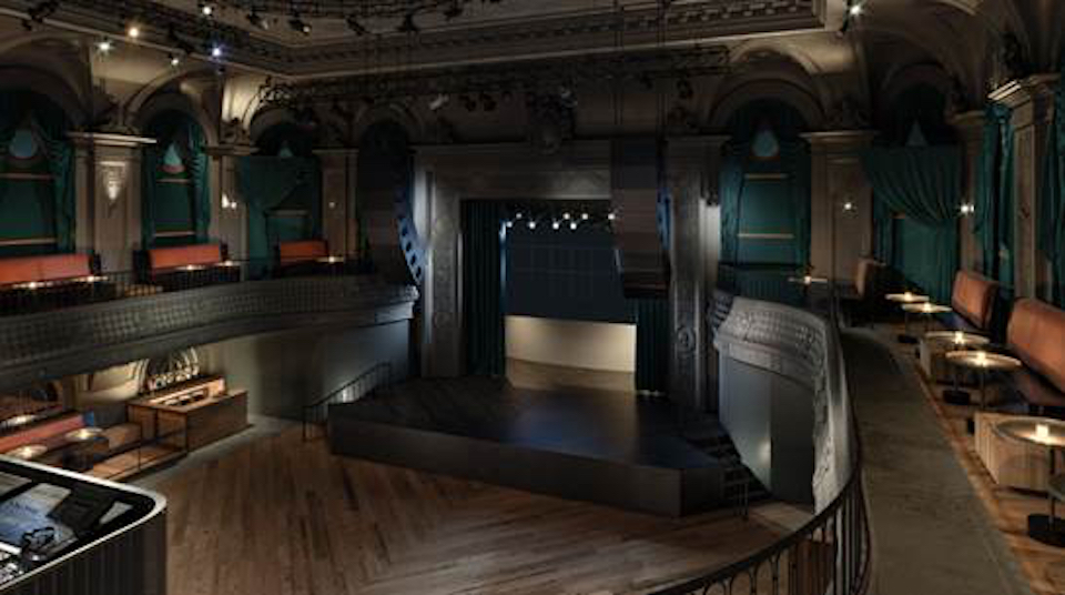 August hall stage view dec 2017