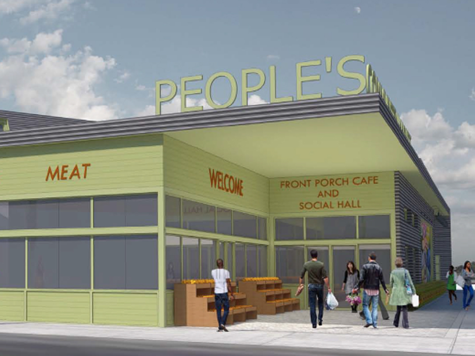 Peoples community market render