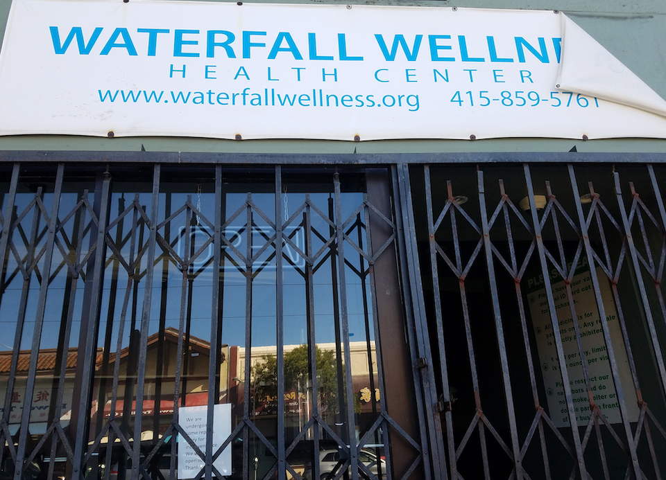 Waterfall Wellness closed at 1545 Ocean Ave. in December, after eight years in business.