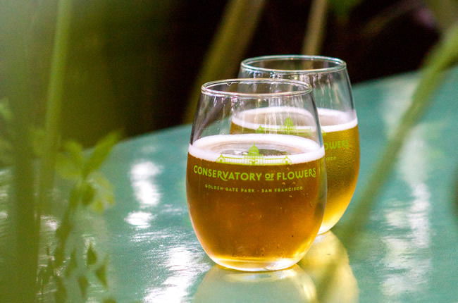 SF weekend: Conservatory of Flowers beer event, silent reading club, Bike & Book Fest, more