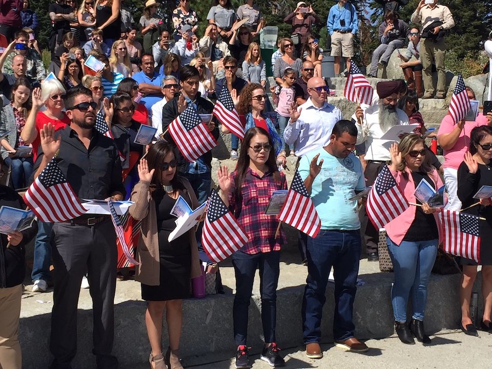 After Trump's Immigration Remarks, Oakland Naturalization