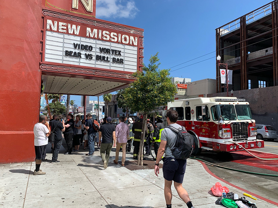 Alamo Drafthouse New Mission temporarily closed after electrical fire