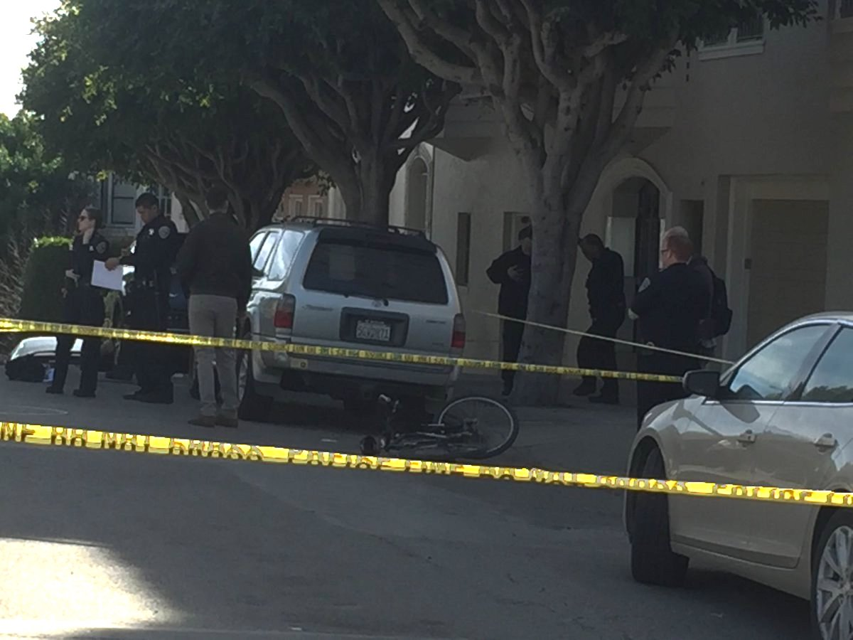 SFPD Officer Hit By Driver Near Alamo Square