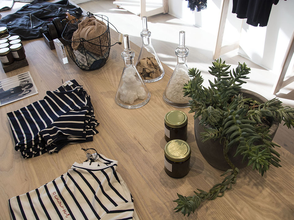 stylist design house plant seeds.  We design our stores to bring bits of nature indoors in a very minimalistic way through plants and overall Roehrick said noting that Amour Vert Eco Friendly Apparel Maker Sprouts Marina Outpost