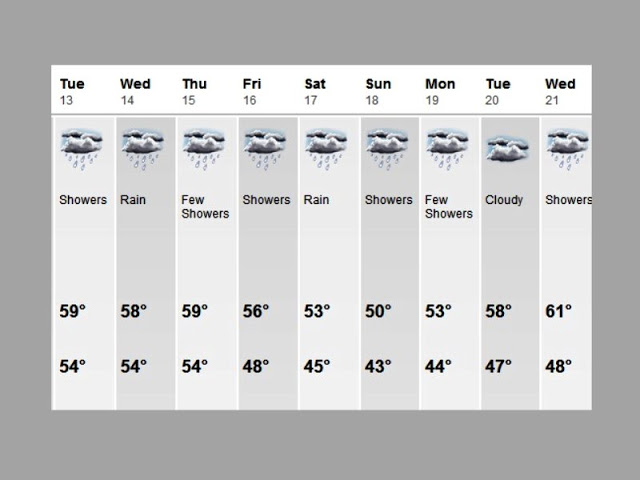 10 day forecast