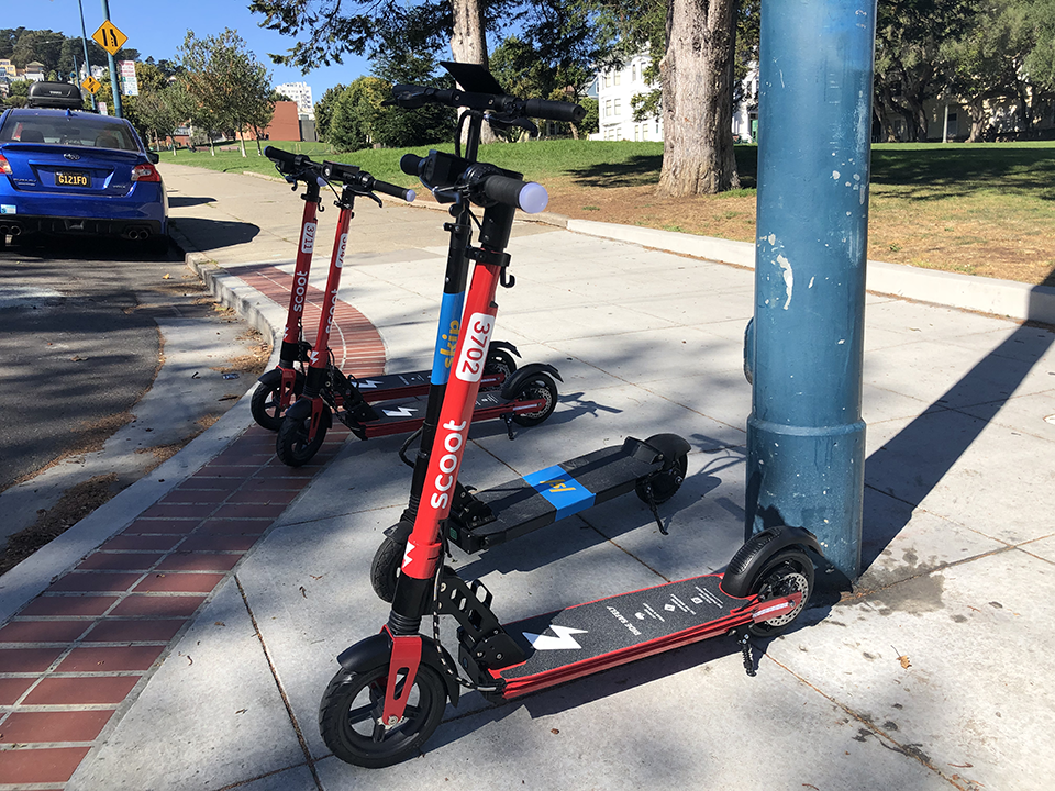 2,500 scooters land on SF's streets today, as 3 new companies join the fray