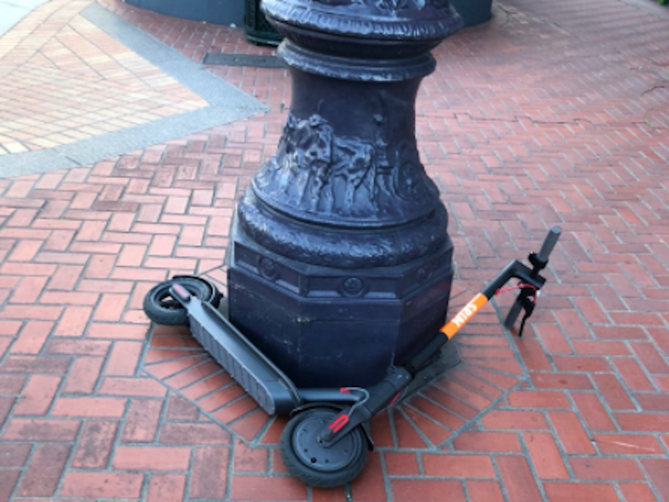 City officials confiscate dockless scooters throughout San Francisco