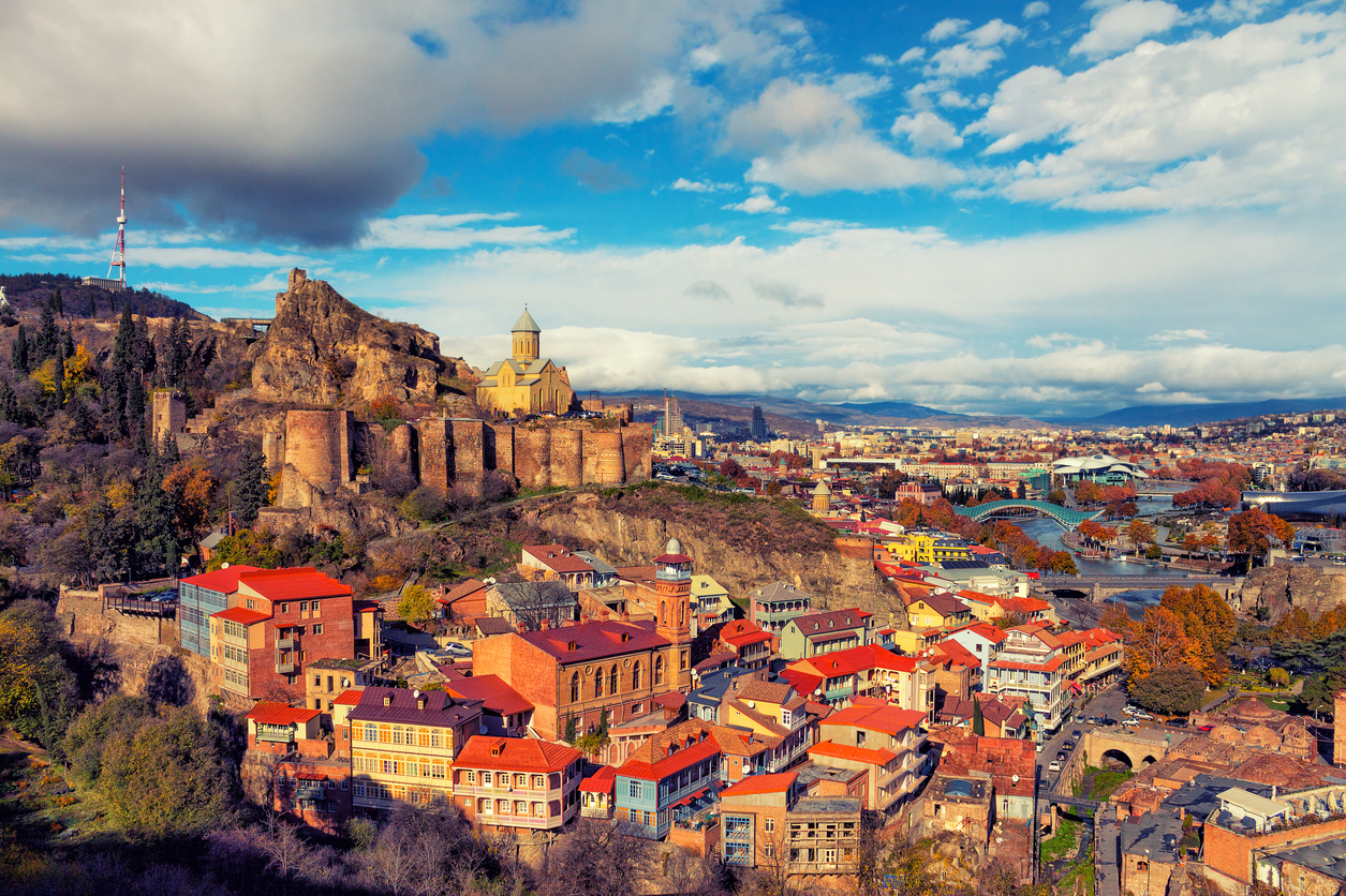 How to travel from Washington to Tbilisi on the cheap