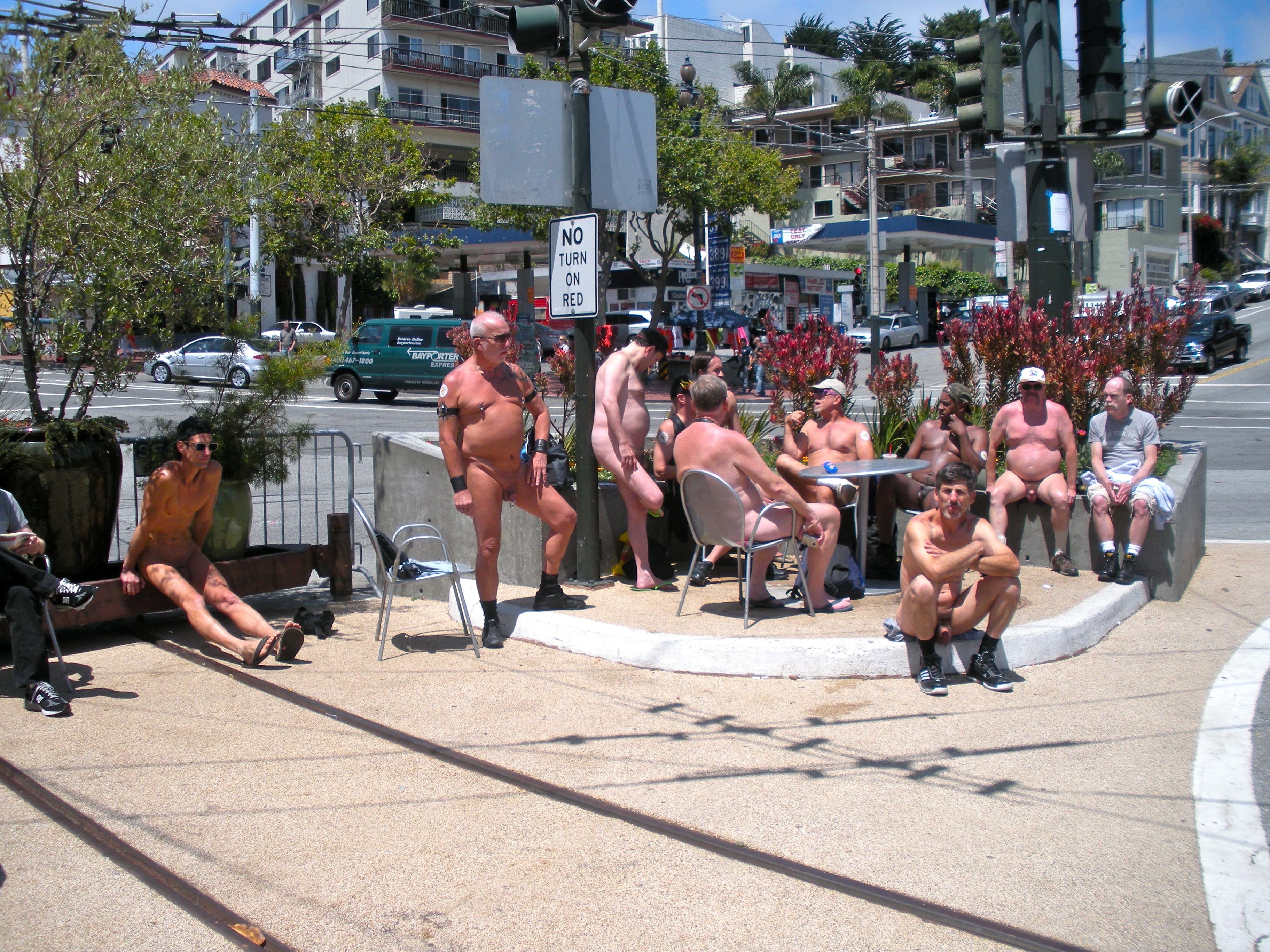 nude events san francisco