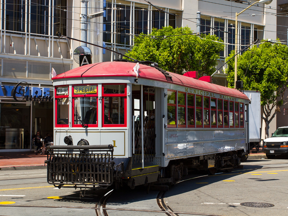 Trolley Tours Show Off Rare Streetcars LessTraveled Routes Hoodline - Market street car show