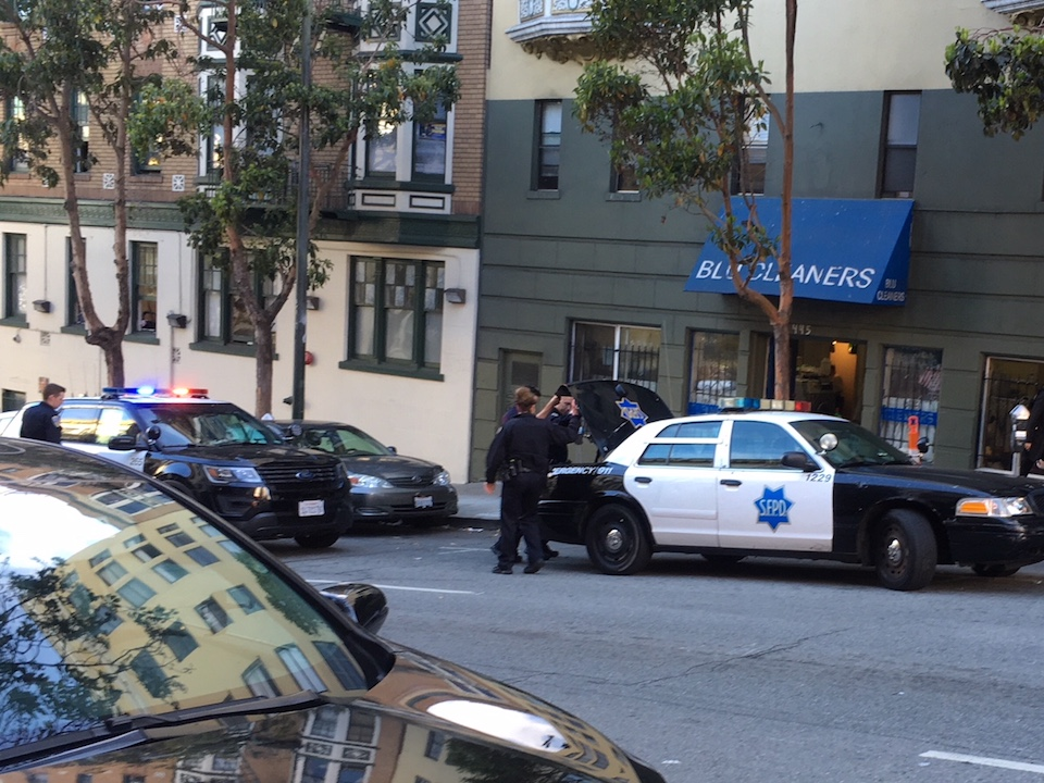 Sfpd on hyde june 2018