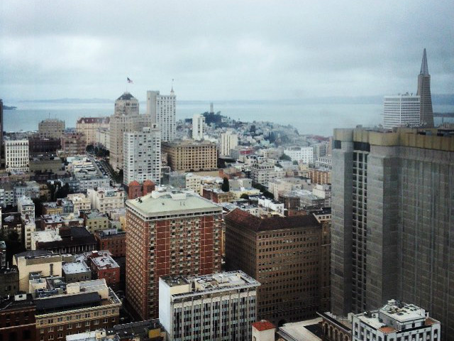 Hilton union square to reopen 46th floor cityscape hoodline for Bar food union square san francisco