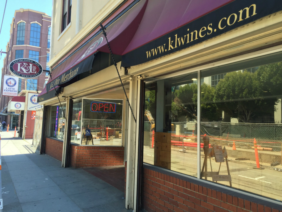 K L Wine Merchants Redwood City Ca